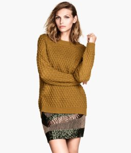 Jumper in a texture knit